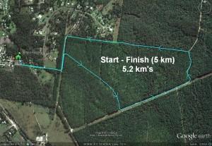 5km Course (5.2 km)