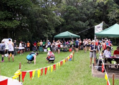 Photo of Mount Glorious Mountain Trails finish area
