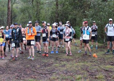 Washpool World Heritage Trails race start at Mulligans Hut